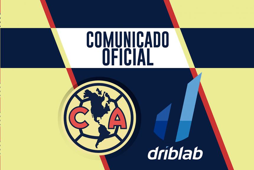 Club América y Driblab firman un acuerdo de colaboración