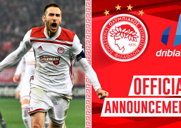 Olympiacos and Driblab announce exclusive partnership agreement