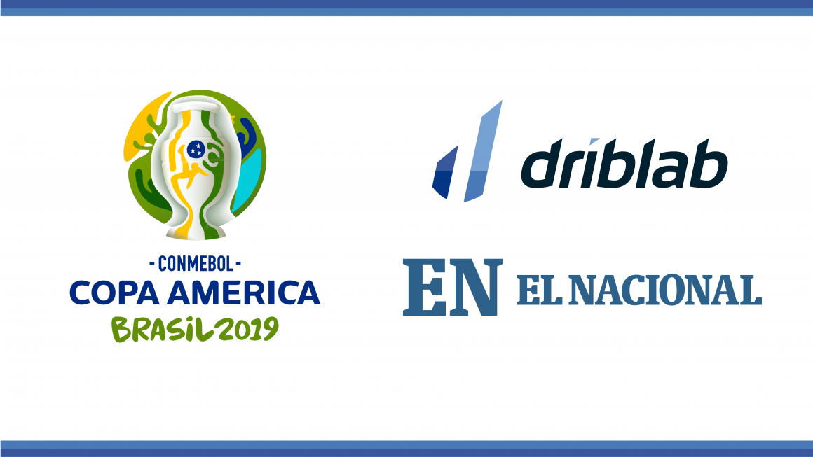 El Nacional and Driblab will collaborate in the coverage of Copa America 2019