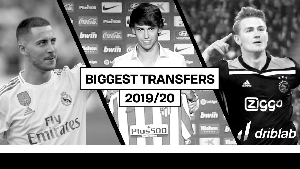 Biggest transfers of 2019/20 so far
