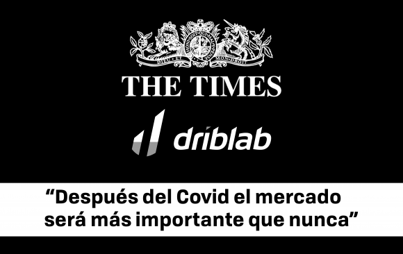 Driblab aparece en The Times
