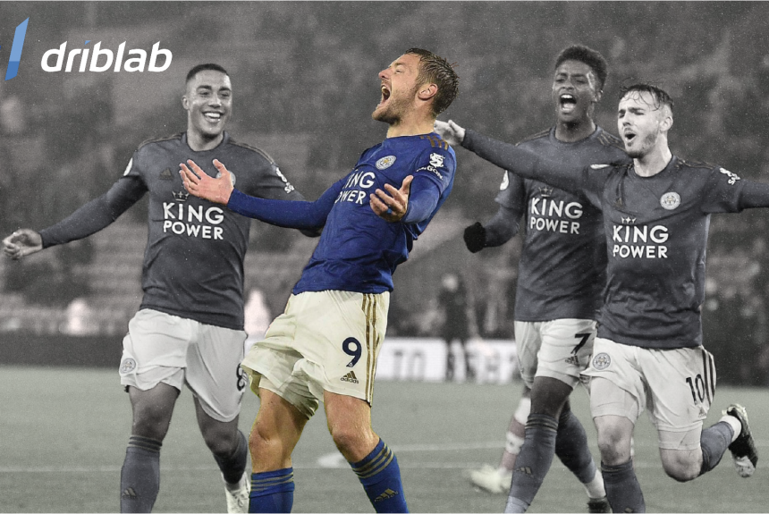 A clinical finisher: Jamie Vardy